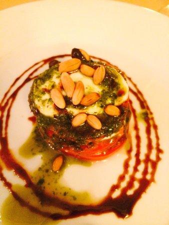 Barut Lara: Insalata Caprice from the A la Carte restaurant, Olive.