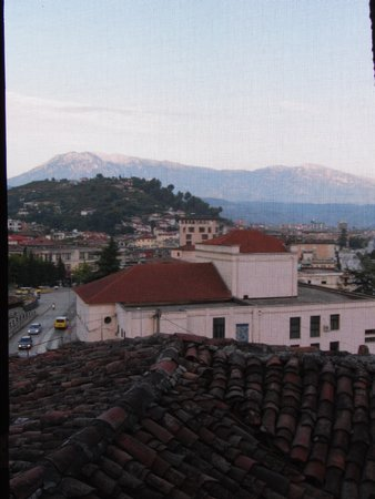 Hotel Nasho Vruho: vue de la fenêtre de notre chambre