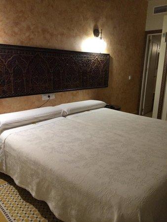 Hotel Argantonio: La camera da letto