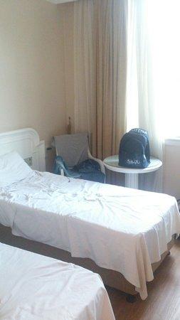 Fuar Hotel: Une vue de la chambre