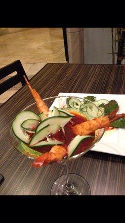 Kobu Restaurant: Camarones Martini Ebi, no hay nada mejor...