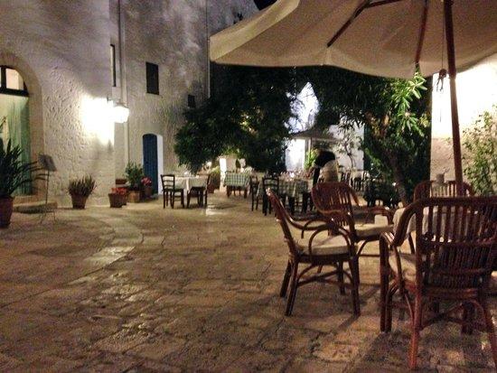 Masseria Il Frantoio: Piazzale