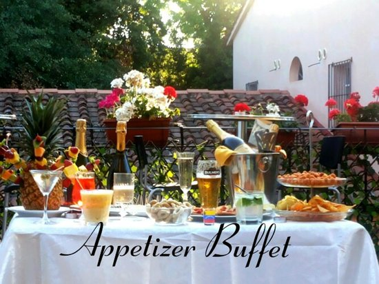 Hotel Francesco: Appetizer Buffet