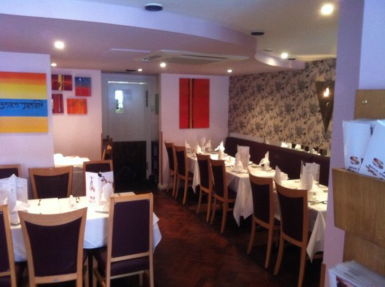 Shah Jahan Indian Restaurant: recently refurbished