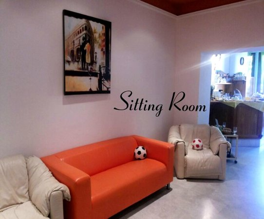 Hotel Francesco: Sitting Room