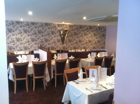 Shah Jahan Indian Restaurant: recently refurbished