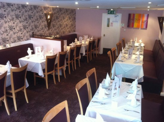 Shah Jahan Indian Restaurant: suitable for large parties