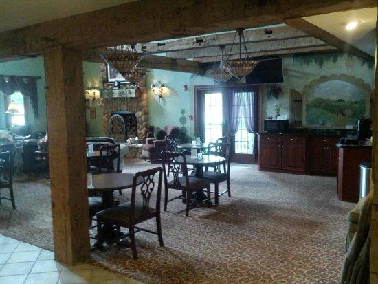 Hearthstone Inn Suites Lobby
