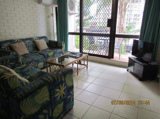 Trickett Gardens Holiday Inn: living room
