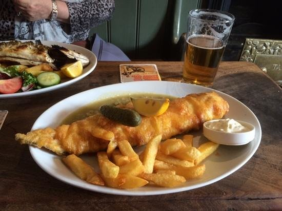 Cod & Chips at The Prince of Wales, Stow Maries
