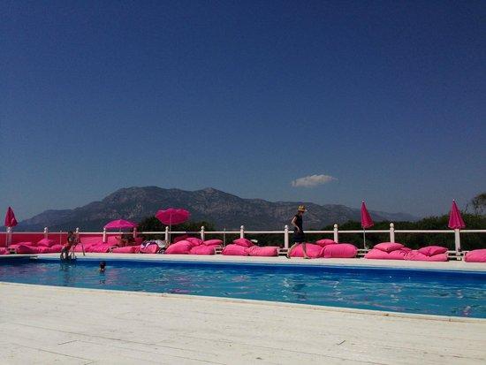 Pink Beach Club Veduta Da Bordo Piscina