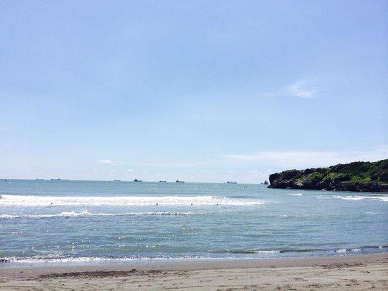 Cijin Seaside Park: The beach