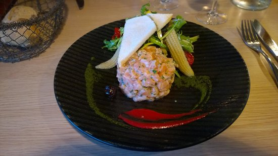 L'annexe : tartare de saumon