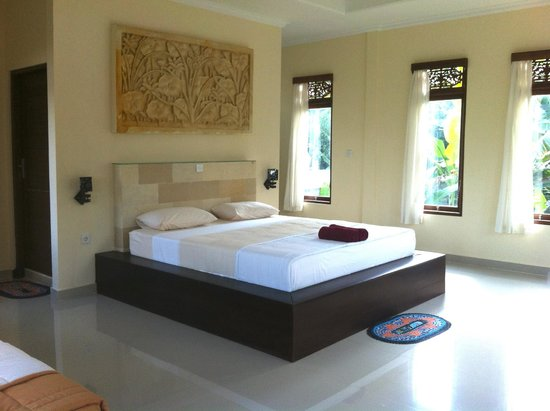 Karang Mesari Ubud Bungalow : Superior double room located on the second floor
