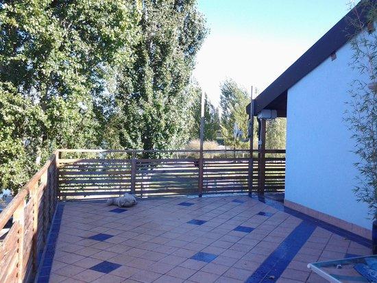 Agriturismo Ai due laghi del Verginese : il terrazzo