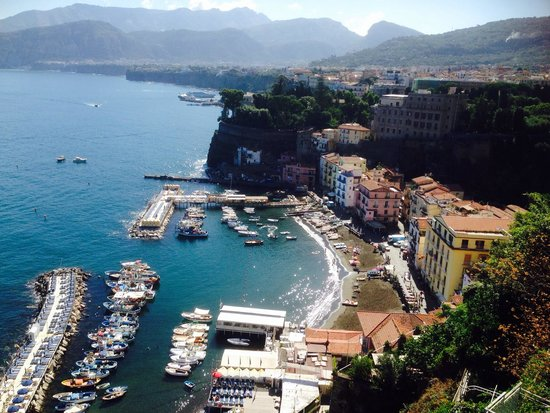 Settimo Cielo: View from balcony