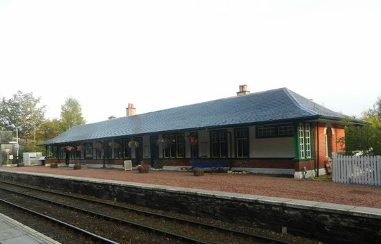 Old Station Restaurant at Spean Bridge
