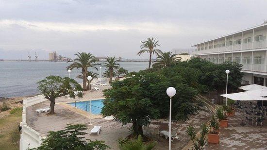 Carlos III Hotel: Vistas desde la habitación 106