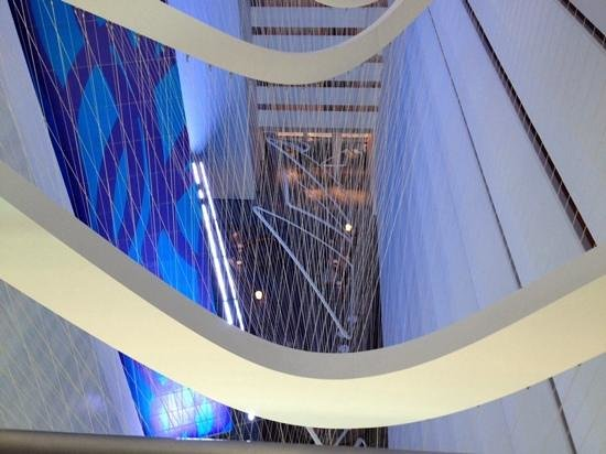 Conrad New York : view of lobby from above