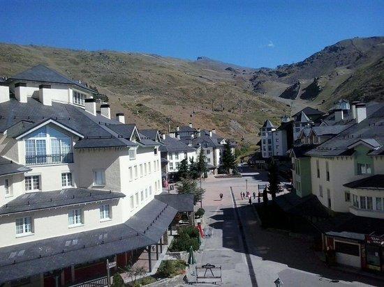 Inside Plaza Sierra Nevada: Vistas desde los apartamentos