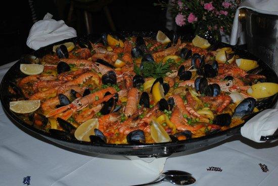 Restaurant Tullinger Hof: die beste Paella