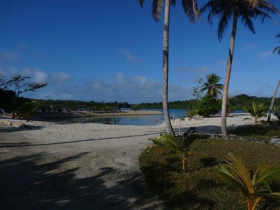 Aquana Beach Resort: dehors, la vue