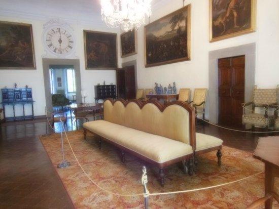 camera da letto in stile impero lucchese - Foto di Villa Bernardini ...