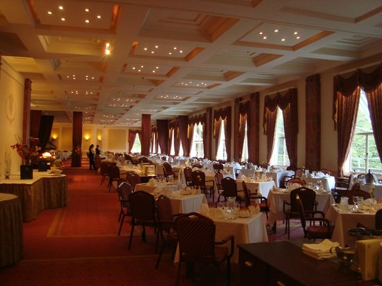 The Palace Hotel: Fabulous dining room