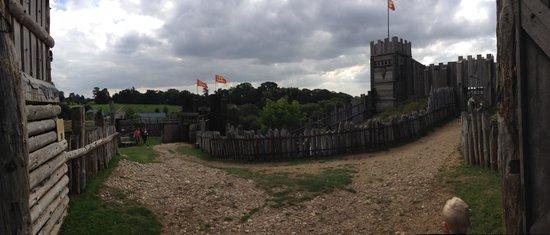 Mountfitchet Castle: View