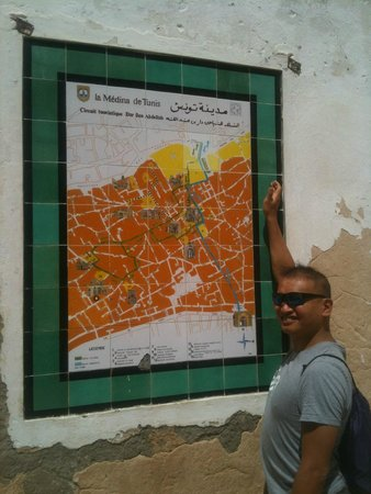 Médina de Tunis : Map of the medina - look for these