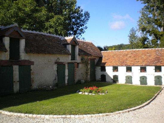 La Pillebourdiere: giardino