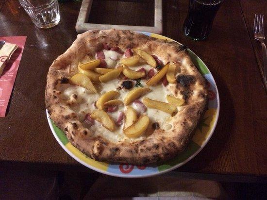 Rossopomodoro Napoli Centro Pizza würstel e patatine