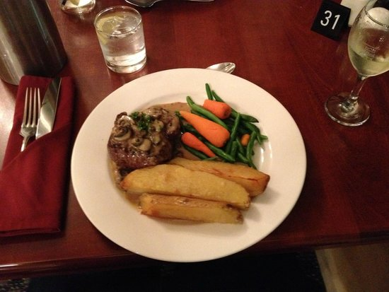 Tidal Waters Resort : Fillet Steak