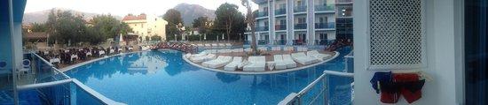 Ocean Blue High Class Hotel : Udsigt fra værelset