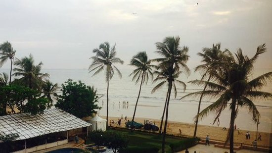 Sun-n-Sand Hotel, Mumbai : View from our Room