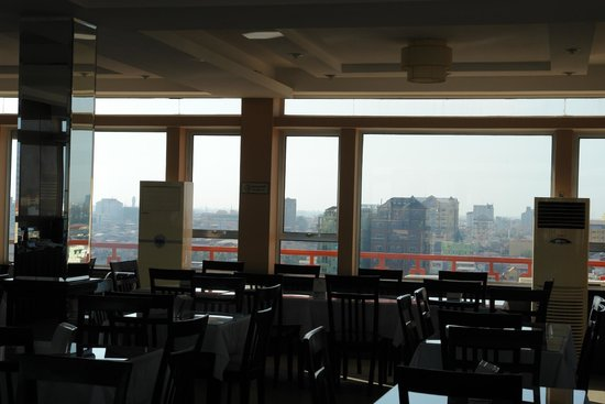 Salita Hotel: Roof top restaurant