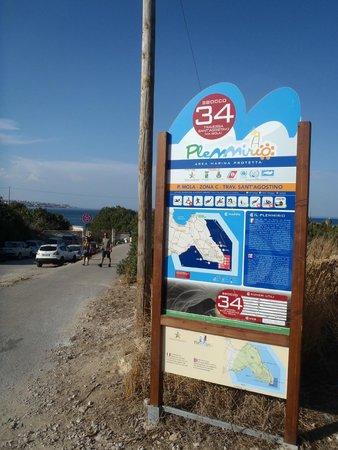 Parco Marino del Plemmirio : Varco 34