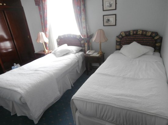 Centennial Hotel: twin room