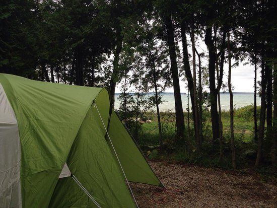 Mackinaw Mill Creek Campground: Site 215.
