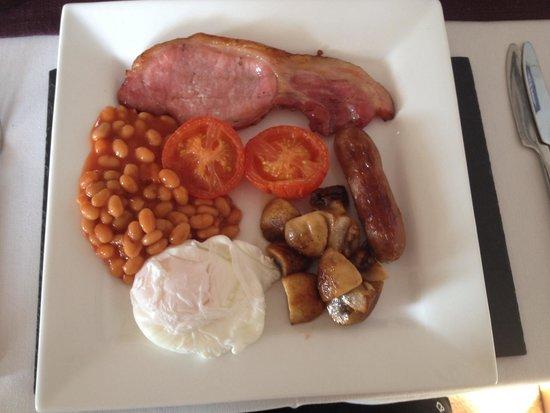 Llys Aeron Guest House: Superb breakfast!