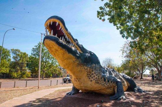 Wyndham, Australie : Right at the croc