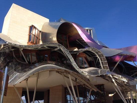 Hotel Marques de Riscal a Luxury Collection Hotel: outstanding art!