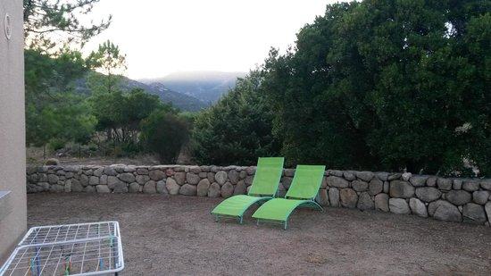 Residence Riviera : Terrasse