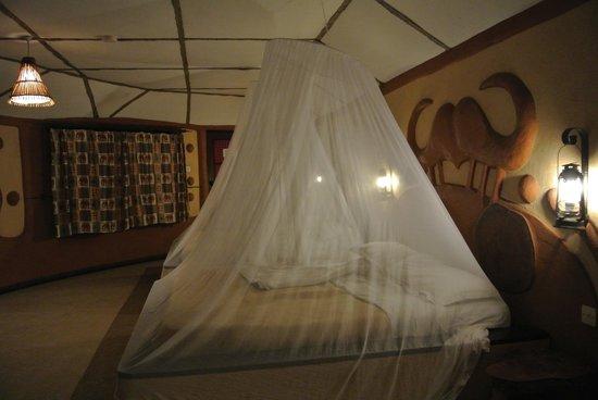Amboseli Sopa Lodge: 客室