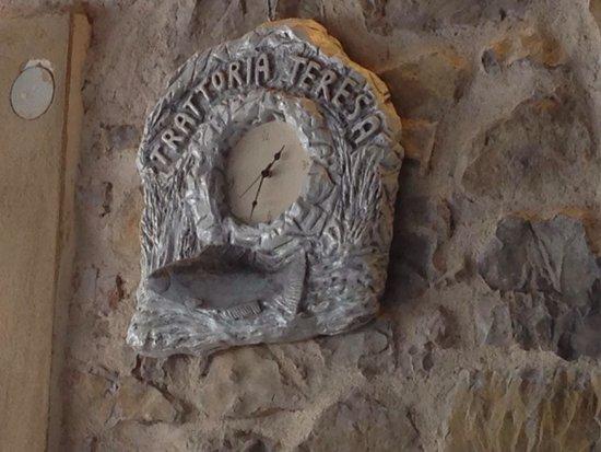 Trattoria Teresa: L'orologio