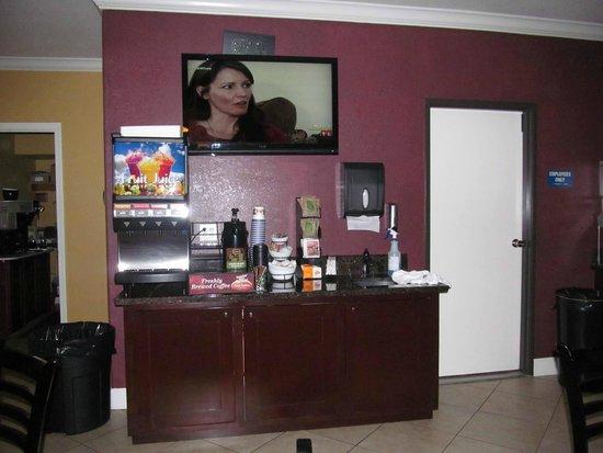 Best Western Anderson Inn : breakfast area