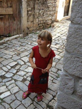 House Ivancic : Вот такие маленькие туристы встречаются...