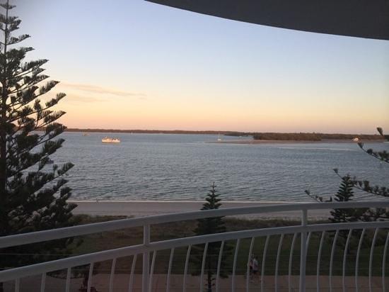 The Atrium Resort: balcony view from floor 4