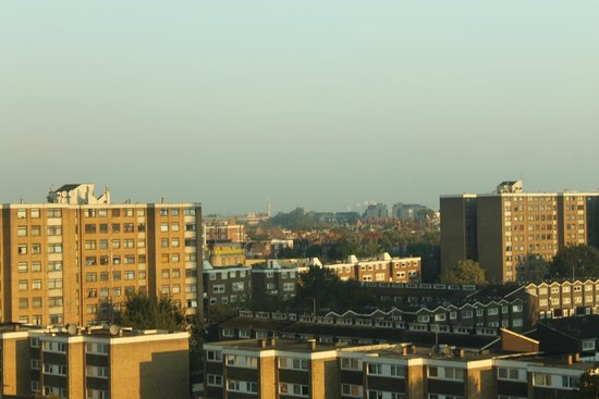 Ibis London Earls Court: Panorama dalla camera ( 8° Piano)