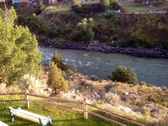 Yellowstone's Absaroka Lodge: View from our balcony